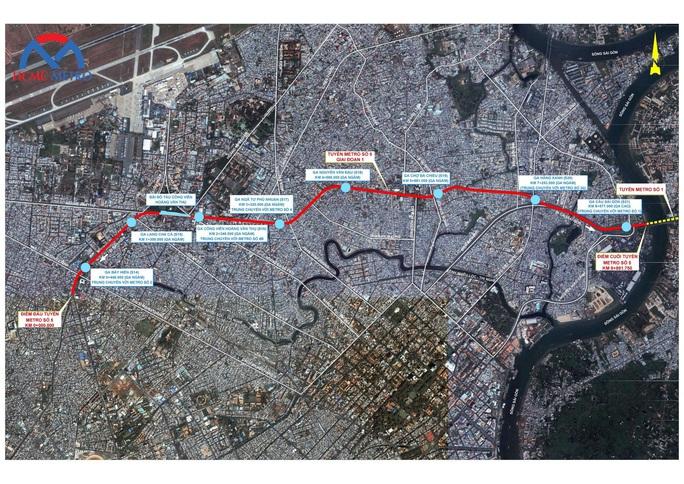 TP HCM: Xúc tiến thêm tuyến metro gần 39.000 tỉ đồng - Ảnh 1.