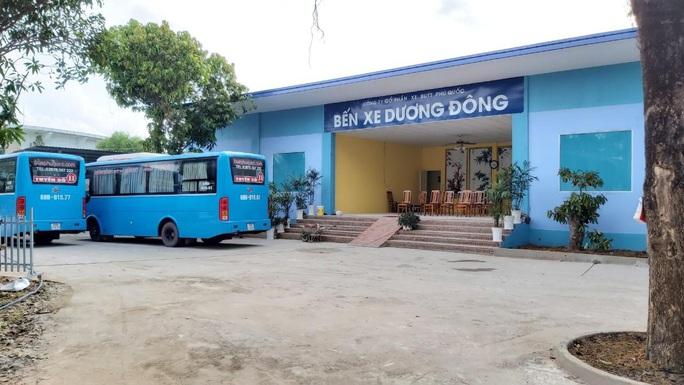 Phú Quốc kiến nghị xử phạt công ty xe buýt chiếm đất công - Ảnh 1.