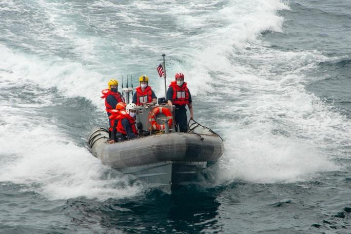 Tàu chiến Mỹ qua eo biển Đài Loan, hoạt động mạnh trên Thái Bình Dương - Ảnh 7.