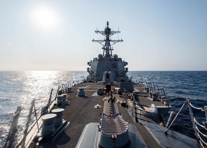 Tàu chiến Mỹ qua eo biển Đài Loan, hoạt động mạnh trên Thái Bình Dương - Ảnh 1.