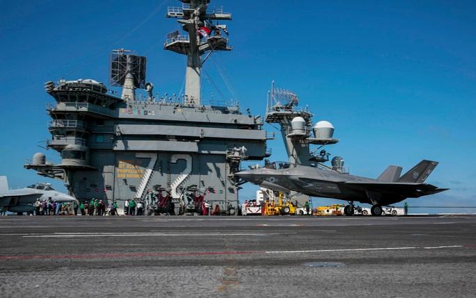 Tàu chiến Mỹ qua eo biển Đài Loan, hoạt động mạnh trên Thái Bình Dương - Ảnh 8.