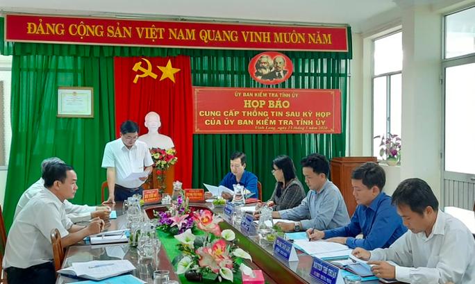 Cách tất cả chức vụ trong Đảng đối với Chủ tịch Hội Chữ thập đỏ Vĩnh Long - Ảnh 1.