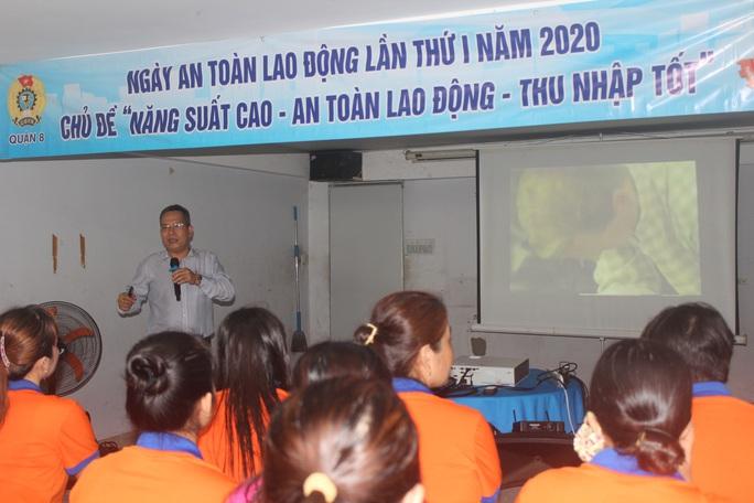 CNVC-LĐ hành động vì an toàn trong lao động - Ảnh 2.