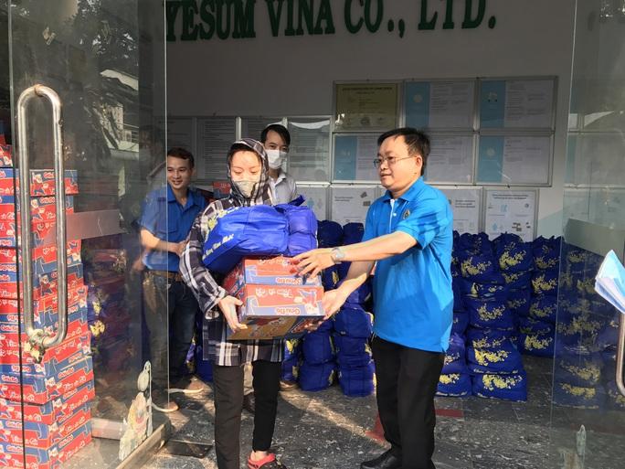 Hỗ trợ công nhân Công ty TNHH Yesum Vina bị mất việc làm - Ảnh 3.