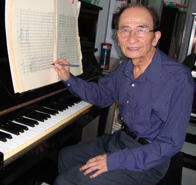 Vĩnh biệt GS-TS - nhạc sĩ Nguyễn Văn Nam - Ảnh 1.
