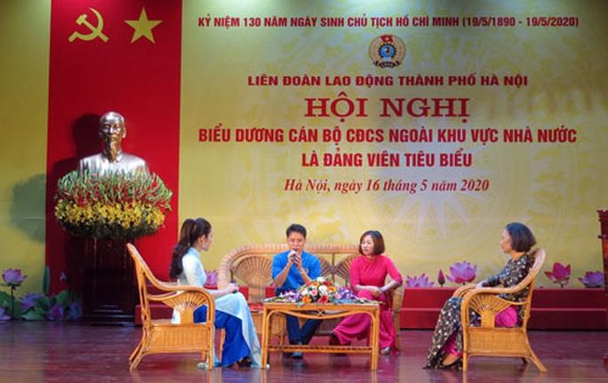 Hà Nội: Tôn vinh cán bộ Công đoàn cơ sở là đảng viên tiêu biểu - Ảnh 1.