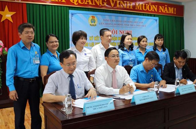 Thừa Thiên - Huế: Nâng phúc lợi cho đoàn viên - Ảnh 1.