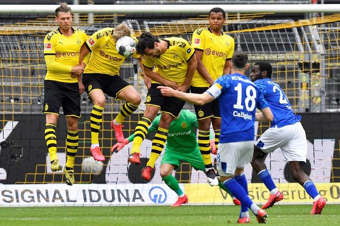 Sát thủ Haaland rực sáng, Dortmund đại thắng derby Bundesliga - Ảnh 4.