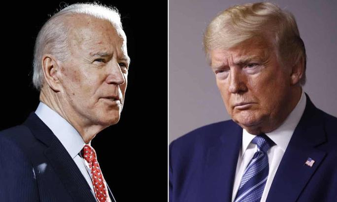 """Tổng thống Trump """"lép vế"""" trước ông Biden ở một số bang - Ảnh 1."""