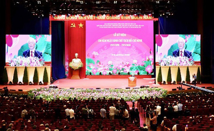 Trọng thể tổ chức Lễ Kỷ niệm 130 năm Ngày sinh Chủ tịch Hồ Chí Minh - Ảnh 7.