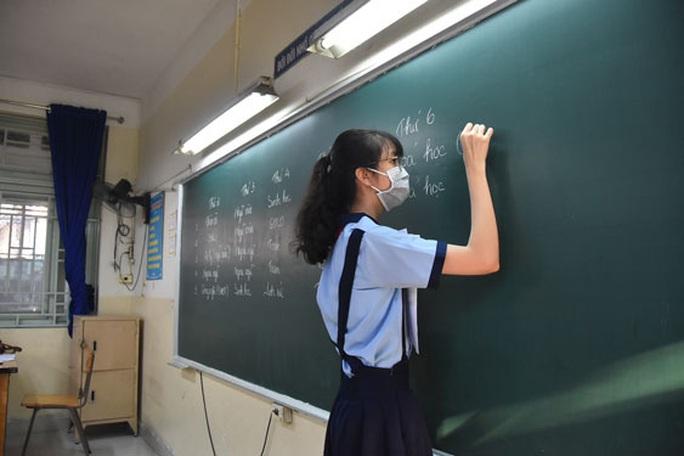 Bắt đầu đăng ký dự thi tuyển sinh lớp 10 - Ảnh 1.