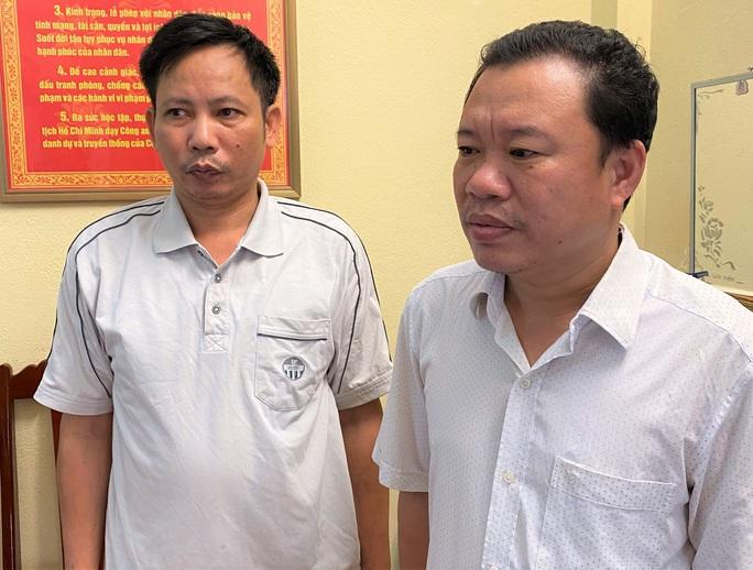 Bắt 2 cán bộ xã ở Thanh Hóa bán trái thẩm quyền hơn 16.000 m2 đất - Ảnh 1.