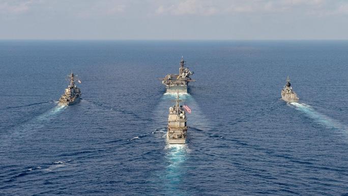 Úc cảnh báo hành vi bắt nạt ở biển Đông - Ảnh 1.