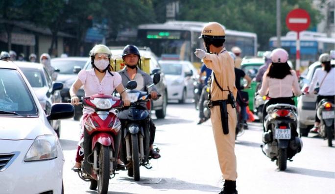Người vi phạm giao thông có thể nộp tiền bảo lãnh phương tiện - Ảnh 1.