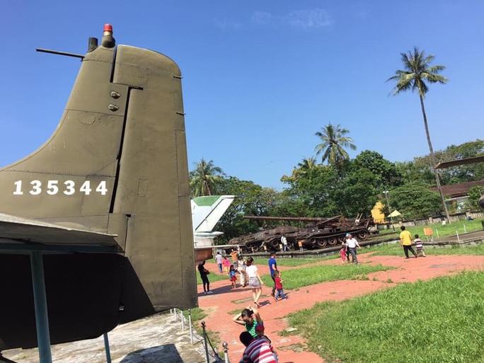 Đưa xe tăng, máy bay... ở bảo tàng ra khỏi kinh thành Huế bằng cách nào? - Ảnh 7.