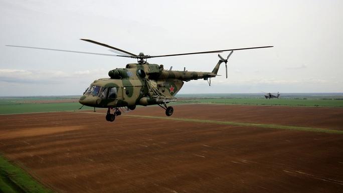 Rơi trực thăng quân sự Nga, không một ai sống sót - Ảnh 1.