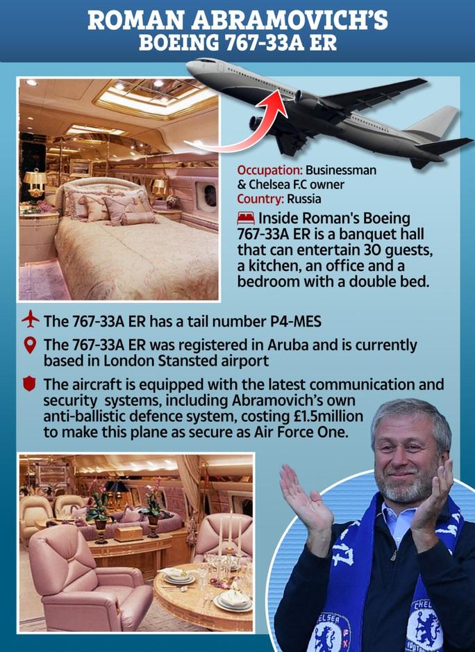 Ngắm cung điện bay 80 triệu USD của tỉ phú Abramovich - Ảnh 2.