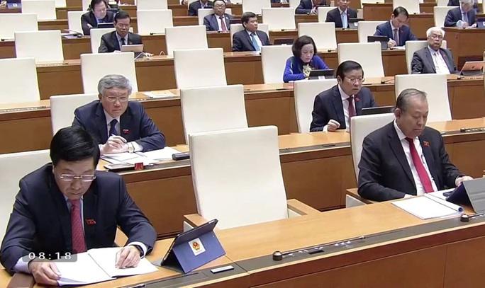 Sáng nay, Quốc hội khai mạc kỳ họp thứ 9 theo hình thức trực tuyến - Ảnh 5.