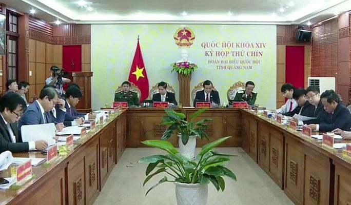 Sáng nay, Quốc hội khai mạc kỳ họp thứ 9 theo hình thức trực tuyến - Ảnh 9.