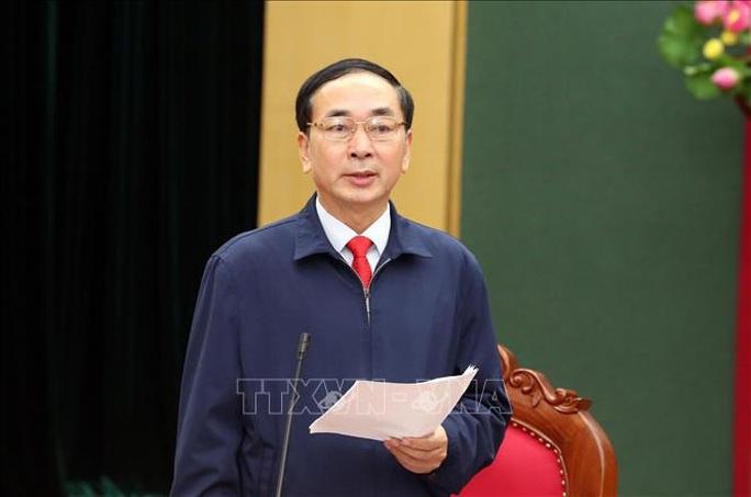 Bí thư Thái Nguyên Trần Quốc Tỏ làm Thứ trưởng Bộ Công an - Ảnh 1.