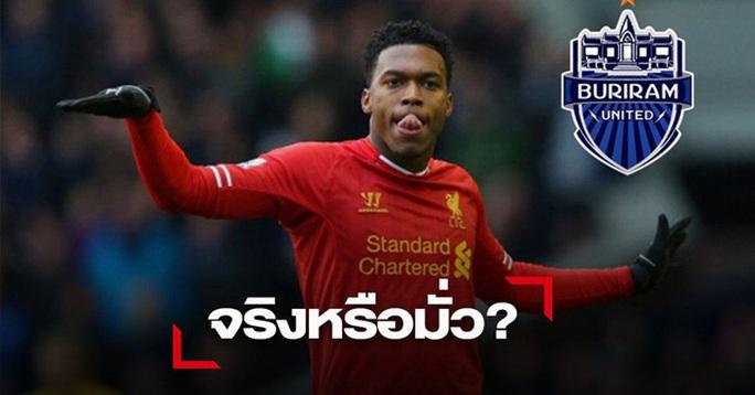 CLB Thái Lan chiêu mộ cựu chân sút Liverpool Daniel Sturridge? - Ảnh 1.