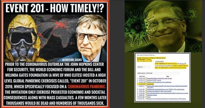 Covid-19: Tin giả, thuyết âm mưu bủa vây tỉ phú Bill Gates - Ảnh 2.