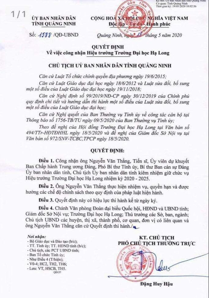 Bộ trưởng Lê Vĩnh Tân: Chủ tịch tỉnh làm hiệu trưởng, tôi mới nghe lần đầu - Ảnh 2.