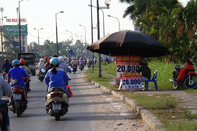 Thu bảo hiểm xe máy 765 tỉ đồng, doanh nghiệp bồi thường 45 tỉ đồng - Ảnh 1.