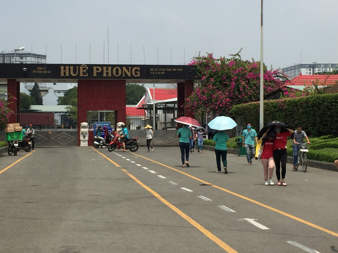 Công ty TNHH giày da Huê Phong cắt giảm 2.200 lao động - Ảnh 1.