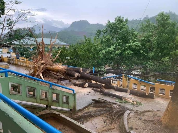 Quảng Nam: Mưa dông kèm lốc xoáy khiến nhiều nhà dân bị tốc mái - Ảnh 7.