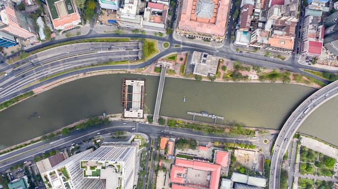 Công trình chống ngập 10.000 tỉ ở TP HCM nhìn từ trên cao - Ảnh 6.
