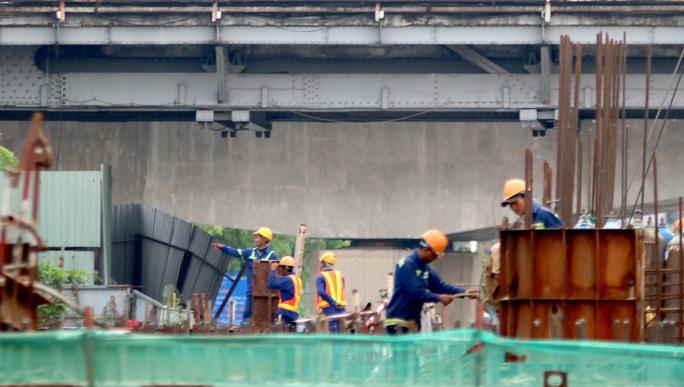 Công trình chống ngập 10.000 tỉ ở TP HCM nhìn từ trên cao - Ảnh 3.