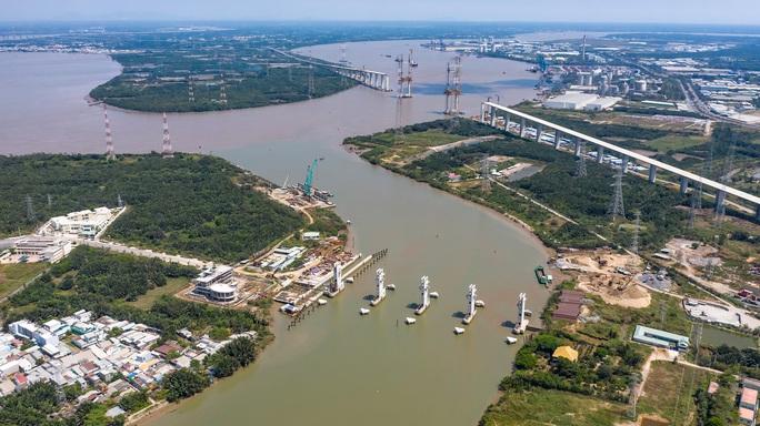 Công trình chống ngập 10.000 tỉ ở TP HCM nhìn từ trên cao - Ảnh 5.