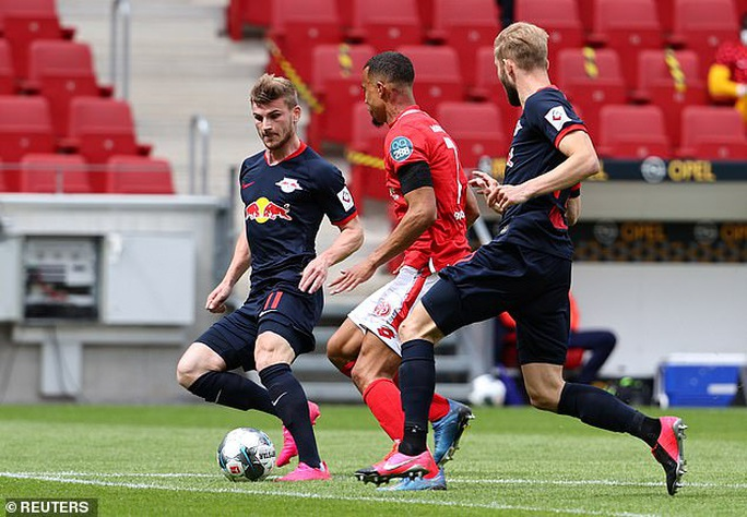 Timo Werner lập hat-trick, Liverpool bỏng mắt với sao RB Leipzig - Ảnh 3.