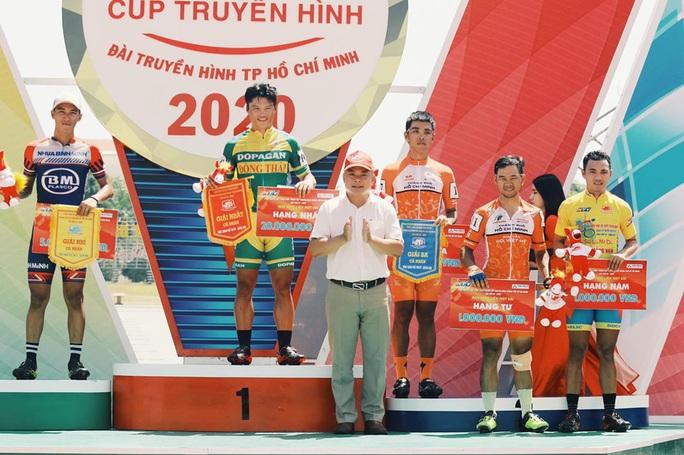 Nỗ lực tuyệt vời của Lê Nguyệt Minh tại chặng 7 - Ảnh 2.