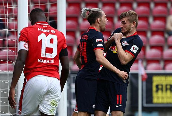 Timo Werner lập hat-trick, Liverpool bỏng mắt với sao RB Leipzig - Ảnh 5.