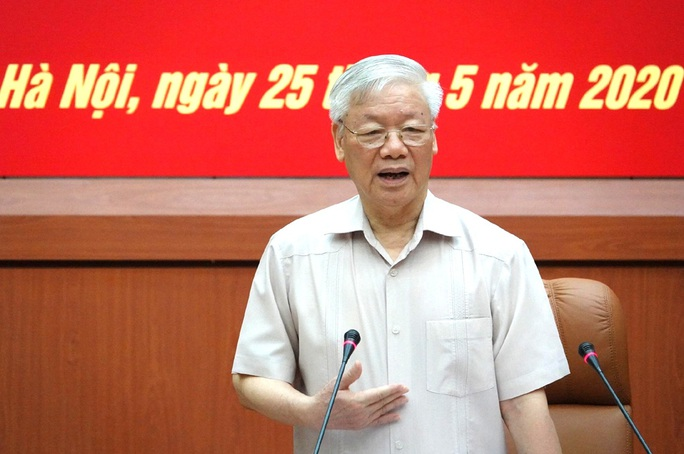 Tổng Bí thư, Chủ tịch nước: Chuẩn bị thật tốt nhân sự Quân đội tham gia Trung ương khóa XIII - Ảnh 2.