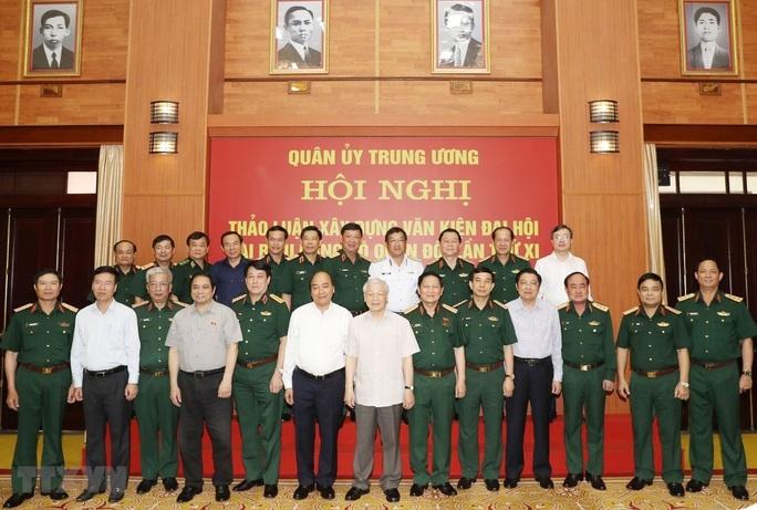 Tổng Bí thư, Chủ tịch nước: Chuẩn bị thật tốt nhân sự Quân đội tham gia Trung ương khóa XIII - Ảnh 3.