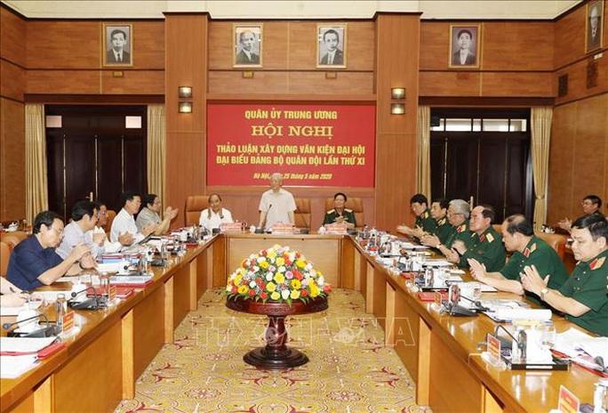Chùm ảnh Tổng Bí thư, Chủ tịch nước Nguyễn Phú Trọng chủ trì Hội nghị Quân ủy Trung ương - Ảnh 4.