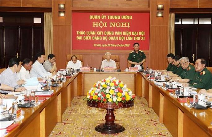 Chùm ảnh Tổng Bí thư, Chủ tịch nước Nguyễn Phú Trọng chủ trì Hội nghị Quân ủy Trung ương - Ảnh 8.