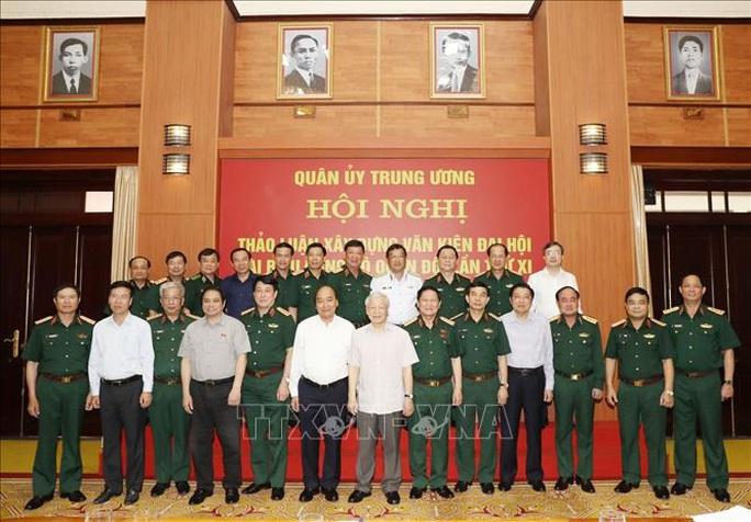 Chùm ảnh Tổng Bí thư, Chủ tịch nước Nguyễn Phú Trọng chủ trì Hội nghị Quân ủy Trung ương - Ảnh 9.
