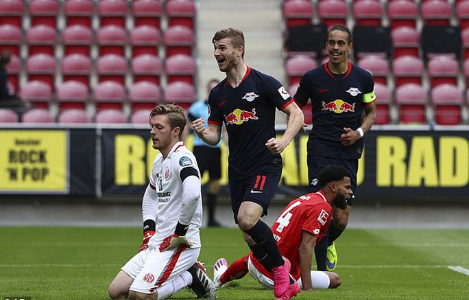 Timo Werner lập hat-trick, Liverpool bỏng mắt với sao RB Leipzig - Ảnh 6.