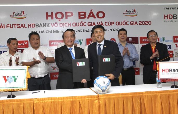 Hấp dẫn Giải Futsal Vô địch quốc gia 2020 - Ảnh 1.