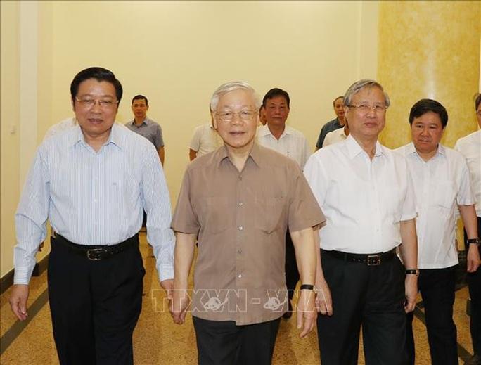 Tổng Bí thư, Chủ tịch nước chủ trì họp Thường trực Ban Chỉ đạo Trung ương phòng, chống tham nhũng - Ảnh 2.
