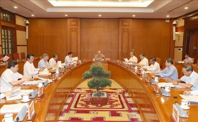 Tổng Bí thư, Chủ tịch nước chủ trì họp Thường trực Ban Chỉ đạo Trung ương phòng, chống tham nhũng - Ảnh 3.