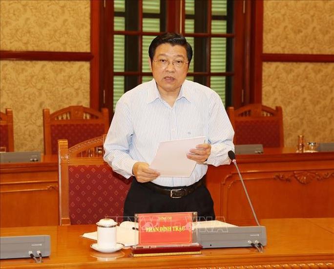 Tổng Bí thư, Chủ tịch nước chủ trì họp Thường trực Ban Chỉ đạo Trung ương phòng, chống tham nhũng - Ảnh 4.