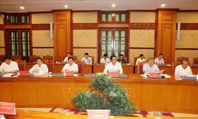 Tổng Bí thư, Chủ tịch nước chủ trì họp Thường trực Ban Chỉ đạo Trung ương phòng, chống tham nhũng - Ảnh 5.