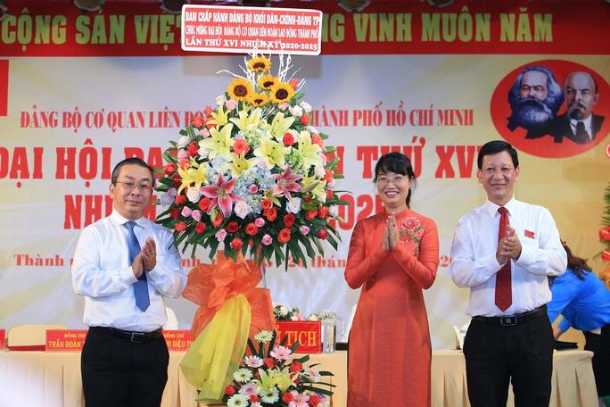 Bà Trần Thị Diệu Thúy tiếp tục được bầu giữ chức Bí thư Đảng ủy Cơ quan LĐLĐ TP HCM - Ảnh 2.