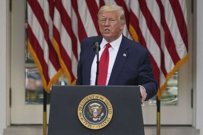 """Ông Trump """"nói là làm"""" về vấn đề Hồng Kông  - Ảnh 1."""