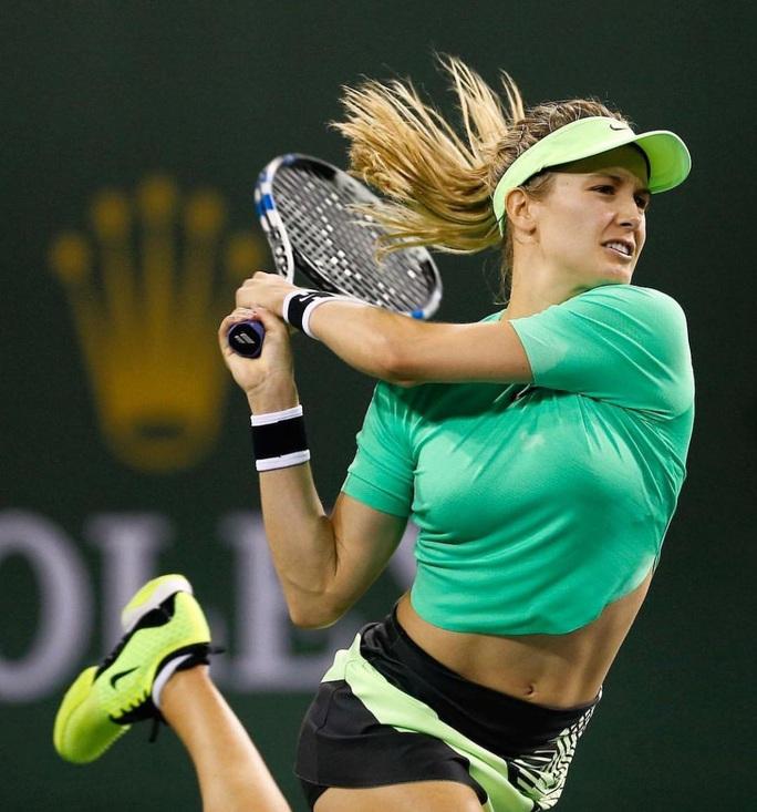Mỹ nhân nóng bỏng làng quần vợt Eugenie Bouchard phớt lờ scandal - Ảnh 1.